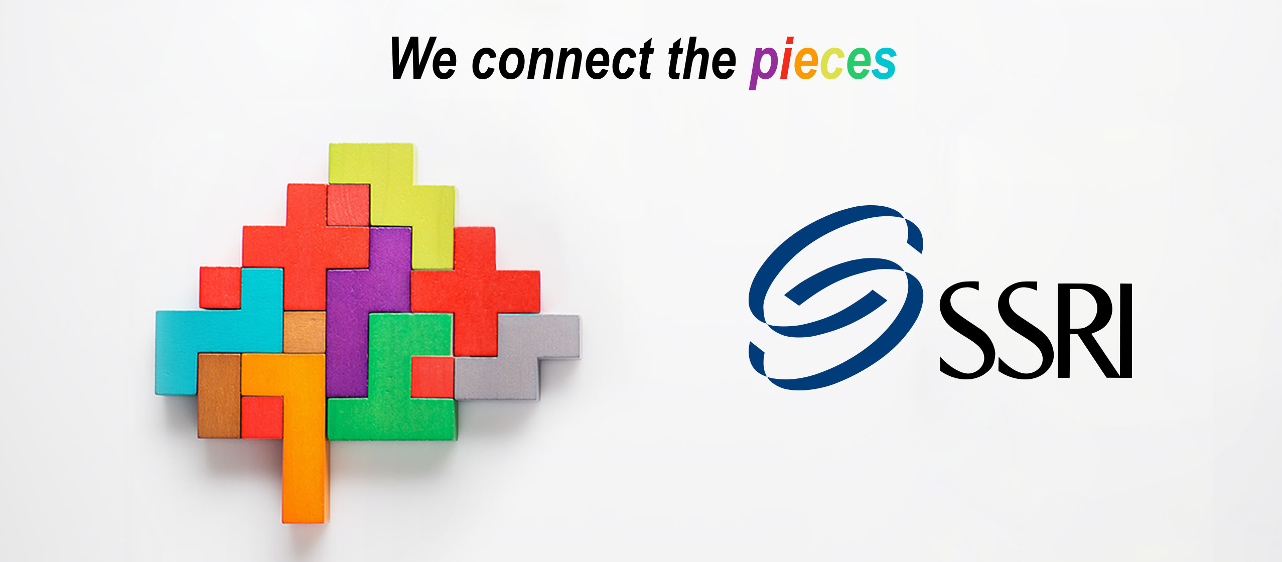 We connect the pieces